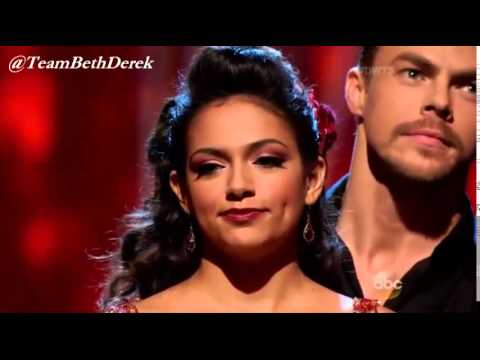 Bethany Mota & Derek Hough - Called safe - Week 2