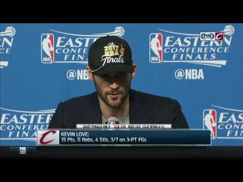 Kevin Love postgame press conference | Cavs-Celtics Game 5 | NBA Playoffs