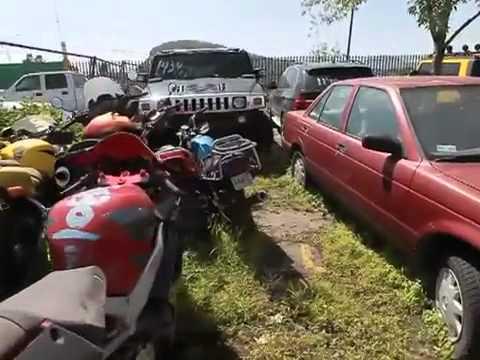Subastas de coches embargados por la policia