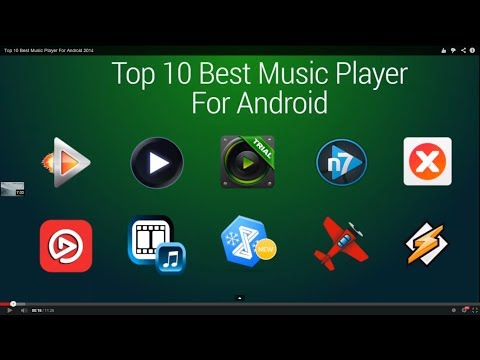 Top 10 Best Music Player For Android 2014