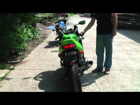 Kawasaki ZXR 250 Sound