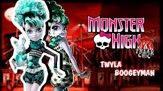 Обзор Monster High Freak Du Chic Twyla (ТВАЙЛА ФРИК ДУ ЧИК)