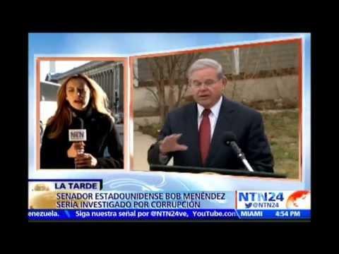 Justicia estadounidense acusará por tráfico de influencias contra demócrata Robert Menéndez