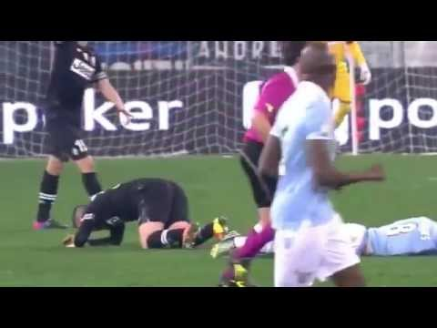 Hernanes Injury Lazio vs Juventus Coppa Italia