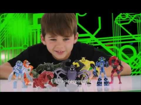 Ben 10 Ultimate Alien - Ultimate Alien Figures & Revolution Ultimatrix