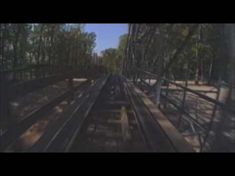 The Voyage Wooden Roller Coaster Front Seat POV Holiday World