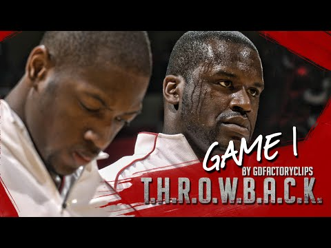 Throwback: Shaquille O'Neal & Dwyane Wade Full Highlights 2006 Playoffs R1G1 vs Bulls - SICK!