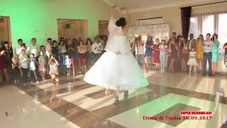 1й танець 10 09 2017р Dima & Nadia  Super Wedding Day Video 0679097590