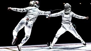 The Physics and Speed of Fencing