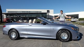 The Mercedes-Maybach S650 Cabriolet Is the $350,000 Ultimate S-Class