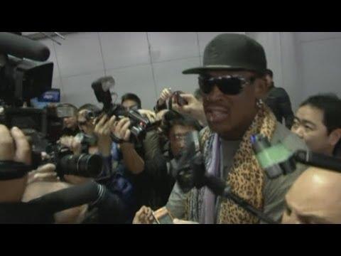 Dennis Rodman returns from North Korea without meeting Kim Jong Un