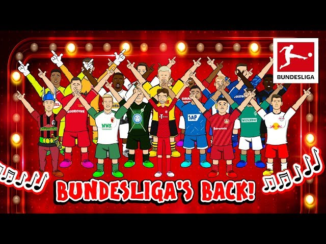 Bundesliga39s Back  Boy Band Song - Powered By 442oons