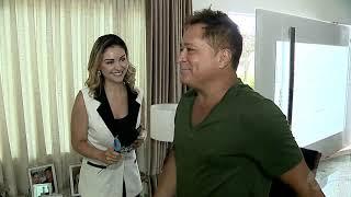 JSD (12/12/18) - Bastidores da entrevista de Leonardo e Zé Felipe