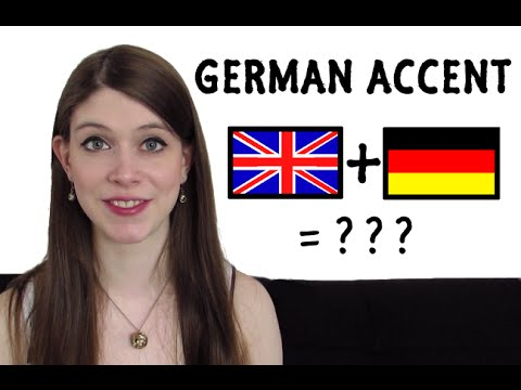 How to do a GERMAN ACCENT?