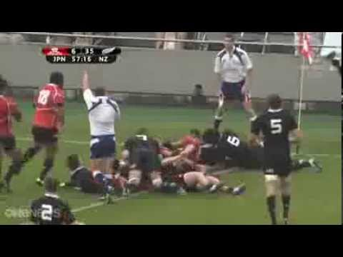 All Blacks v Japan highlights 2013