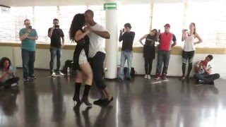Marc Brewer y Lucero Huitron, Demo Master Class Kizomba Woman