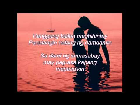 "Nasa iyo na ang lahat by:Sam Milby(""Must be love"" movie theme song)"