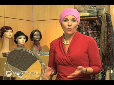how to tie a headscarf farber cancer institute