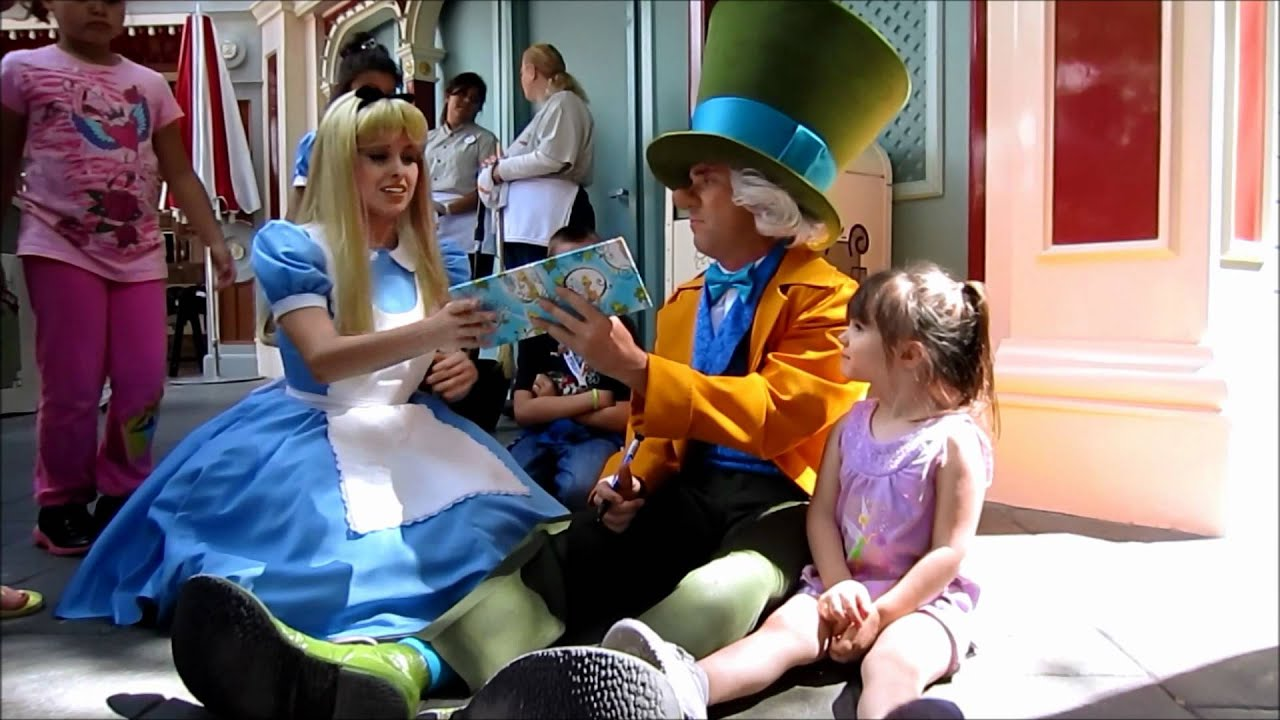 Alice And Mad Hatter Chitchat YouTube