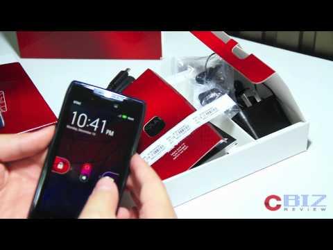 Unboxing - Motorola RAZR CbizReview