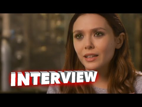 "Marvel's Avengers: Age of Ultron: Elizabeth Olsen ""Wanda Maximoff / Scarlet Witch"" Interview"