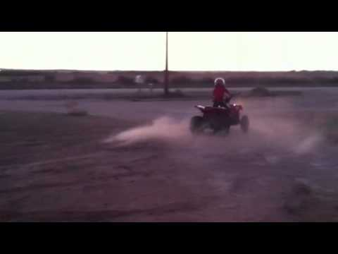 Dwight on 4 wheeler