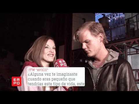 Entrevista Avicii Mexico 2012