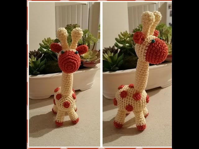 Вязание крючком игрушки «Жираф»   мастер класс