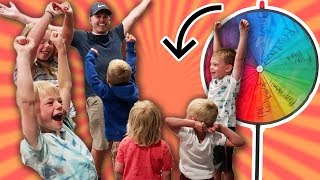 MYSTERY WHEEL! I Can't BELIEVE What It Landed On! Six Kids SURPRISE!