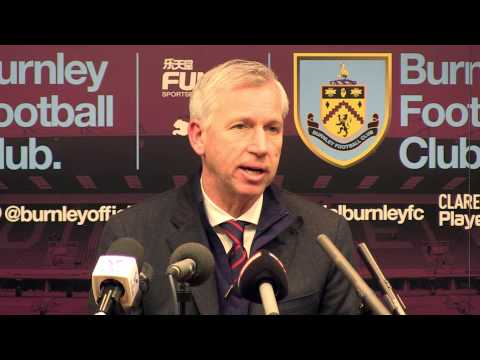 Alan Pardew Post-Burnley Press Conference