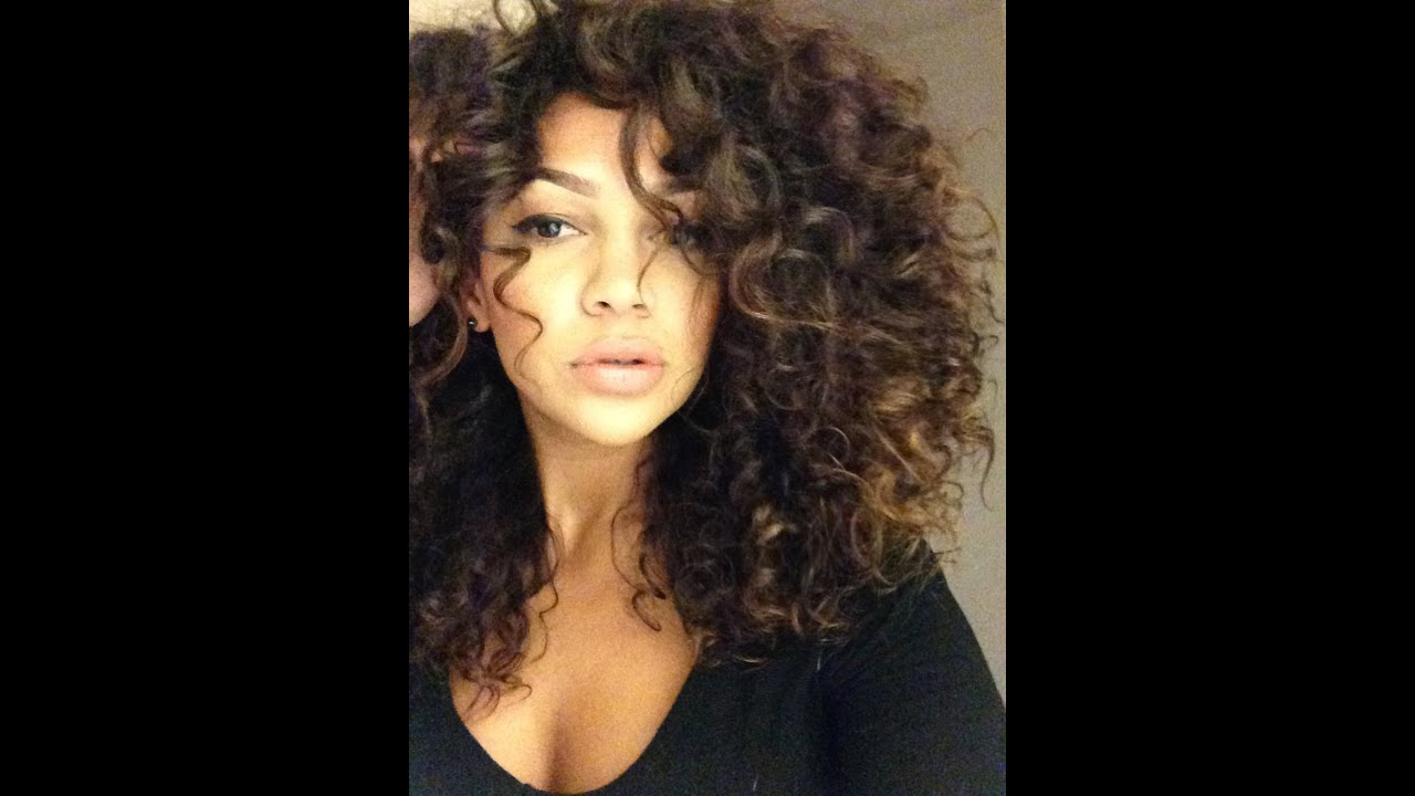 How To Get Bigger Curly Hair By Alysse Reynolds Youtube