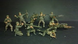 U.S. infantry `44  1/35 scale figures