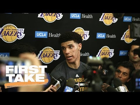 Stephen A. Smith Says Lakers Shouldn't Pass On Lonzo Ball   First Take   June 14, 2017