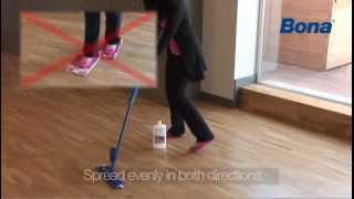Bona Spray Mop, l'innovativa scopa per i pavimenti in legno