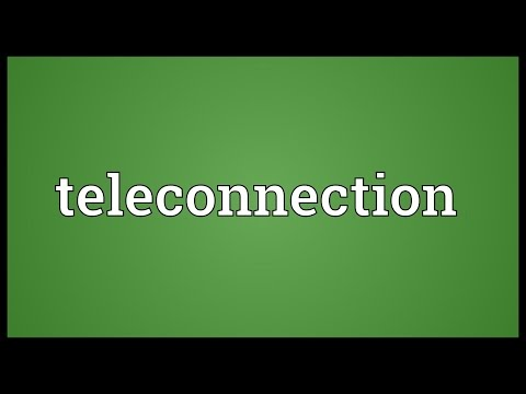 Header of Teleconnection