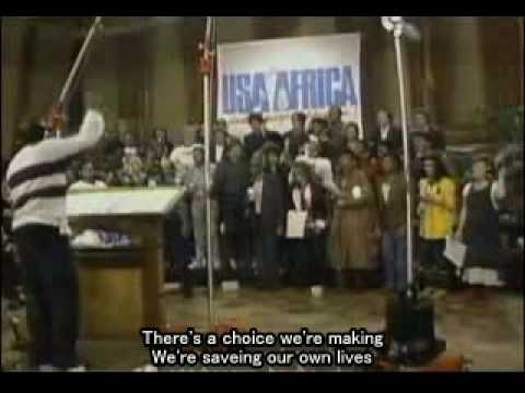 USA For Africa - We Are The World (字幕)