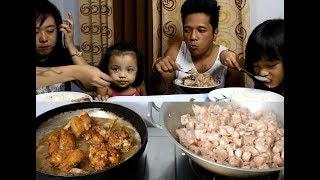 (COOKING NI SAO) Ginataang Langka and Fried Chicken + Taste Test