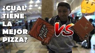 Pizza Hut VS Telepizza ¿Cual es la mejor Pizza?