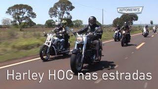 Harley nas estradas de MS - rumo a Bonito
