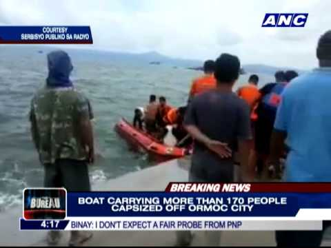 WATCH: Aftermath of Ormoc City sea mishap