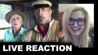 Jungle Cruise Trailer REACTION