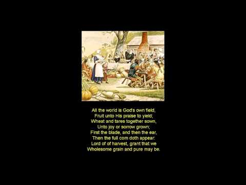 Public Domain - Come Ye Thankful People Come