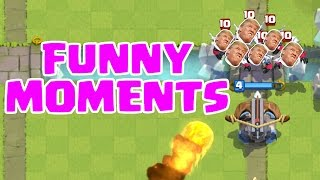 Clash Royale Funny Moments, Glitches, and Fails Compliation 1