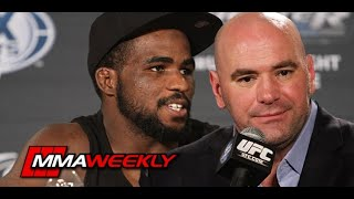 Dana White is not happy with Corey Anderson's 'Cry Baby Bull###' ultimatum (UFC 244)