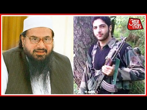 Burhan Wani Was Lashkar Terrorist: Hafiz Sayeed