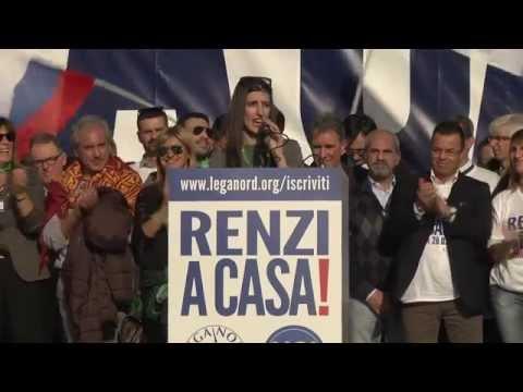 #renziacasa -  intervento di Greta