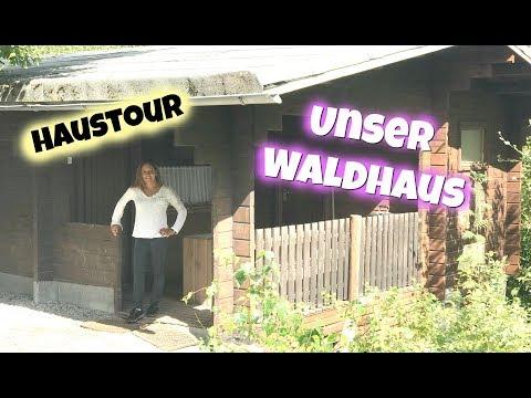 Haustour durch unser Waldhaus - Freizeitpark mit Familie - Vlog#1017 Rosislife