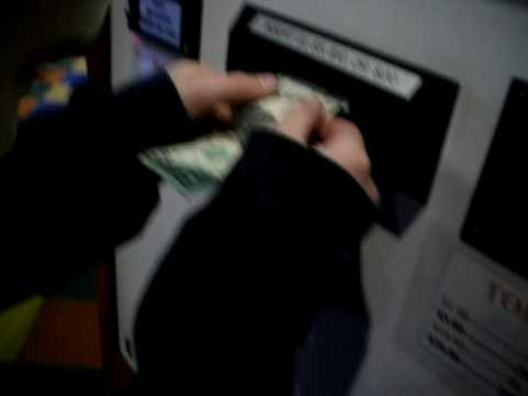 Kyle Cant Put A Dollar Bill In The Token Machine
