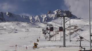 Turkey's Erciyes ski resort attracts tourists