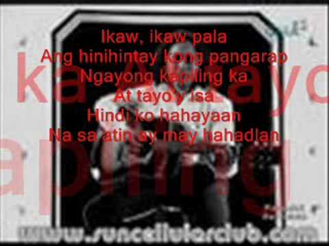 Pangako Sayo By Rey Valera video